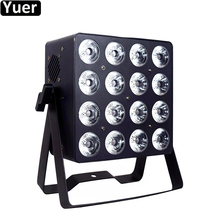 High Power LED Par Light 16x18W RGBWA-UV 6IN1 LED Wash Effect Par Lights DMX512 6/10 CH DJ Disco Party Bar Club Stage Par Light