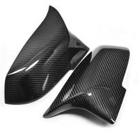 For BMW F30 F32 F33 F20 F22 F23 F36 X1 Mirror M3 M4 Look Rear View Mirror Cover For F20 F30 F22 F36 F23 F87 M2 carbon mirror