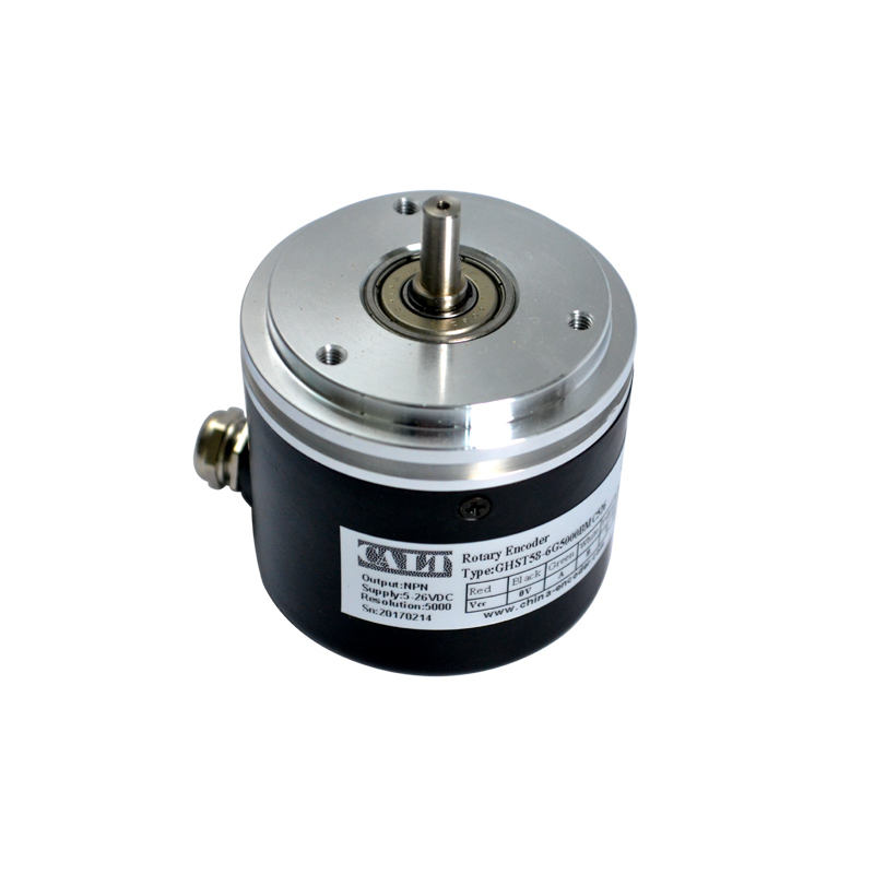 CALT 58mm outer 5mm solid shaft 2500 pulse resolution BE-178 A5 rotary incremental encoder line driver with groove dhc40m6 500 pulse encoder incremental solid shaft rotary encoder sensor