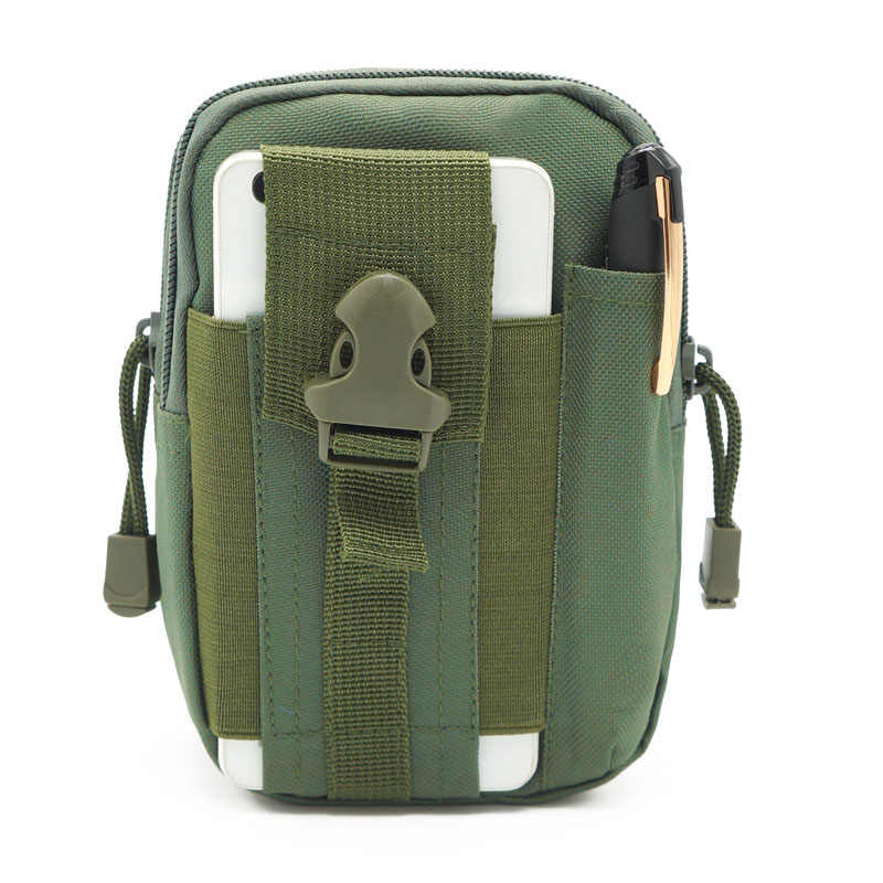Outdoor Sports Tactical Bags Belt Waist Pack Military Bag Travel Daypack Wallet Hiking Climbing Gym Pocket Running Pouches 1 Pcs