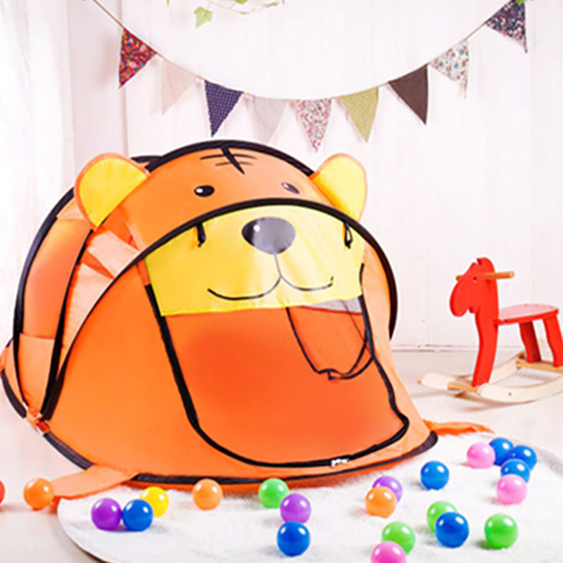 Portable Jouer Tente Enfants En Plein Air Piscine À Balles Intérieur Jouer Tentes Enfants Sûr Pliable Parcs Jeu Piscine de Boules pour les Enfants jouets Gif