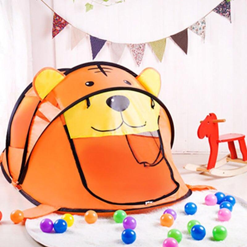 Portable jouer tente enfants en plein air piscine à balles intérieure jouer tentes enfants sûr pliable parcs jeu piscine de boules pour enfants jouets Gif