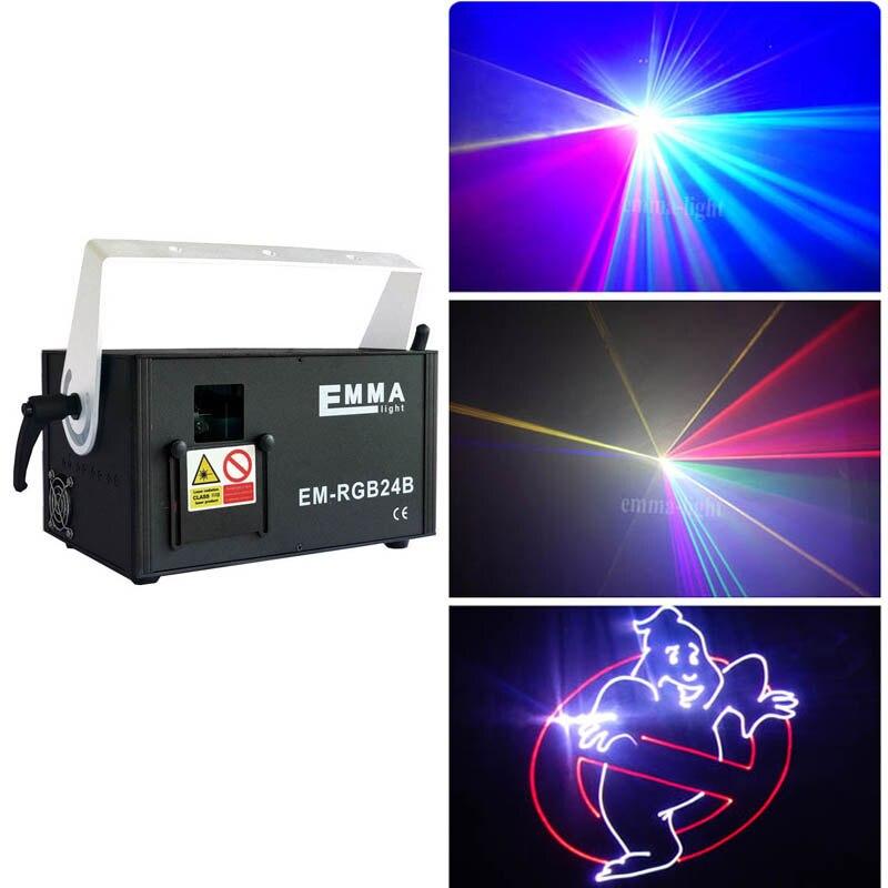 DMX And ILDA Interface 1500mw RGB 3D animation Laser Light Dj Lighting Disco Light Laser Show