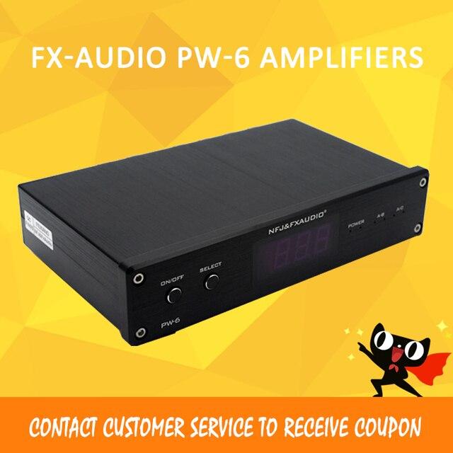 FX Audio PW-6 wzmacniacz audio wzmacniacze mocy amplificador audio