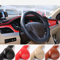 Sunice Leather Grain Vinyl For Car Panel Dashboard Internal DIY Wrap Decals Adhesive PU Car Styling Sticker 1.52*3m