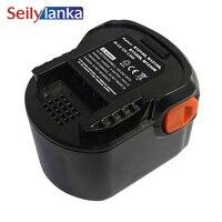 Para aeg bateria de ferramenta elétrica  12v 3000mah 3.0ah cd  b1214g  b1215r  b1220r  ferramentas m1230r  bs12g  bs12x  bsb12g  bsb12stx  bss12rw