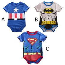 Newborn Baby Boy Girl Kids Cartoon Infant Romper Jumpsuit Outfits summer romper wholesale