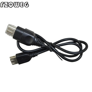 FZQWEG PC USB Type A Female To for Xbox Controller Converter USB Adapter Cable PC To for Xbox Console