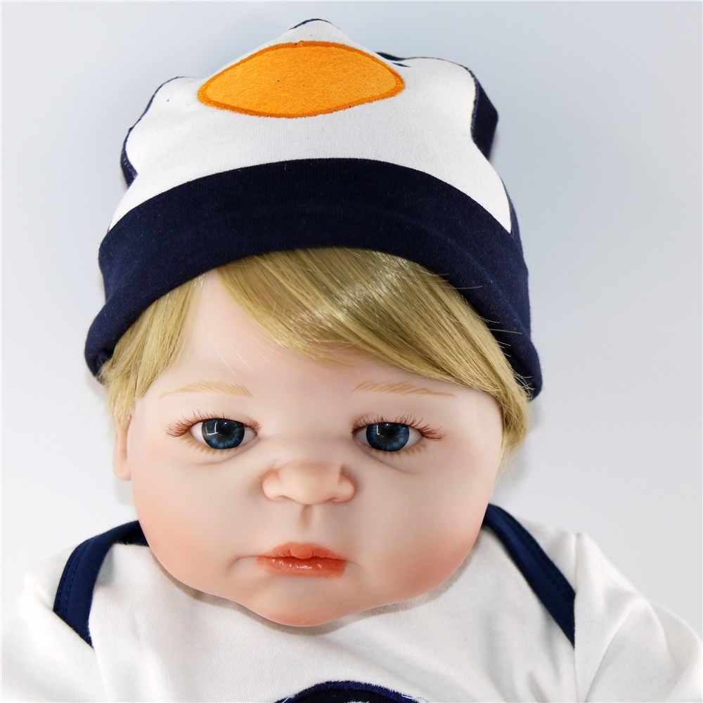 Высококачественный изготовленный на заказ bonecas 56 см реалистичный ребенок ручной работы силиконовый винил мальчик кукла-реборн новорожденный куклы ребенок живой для девочек juguetes BJD