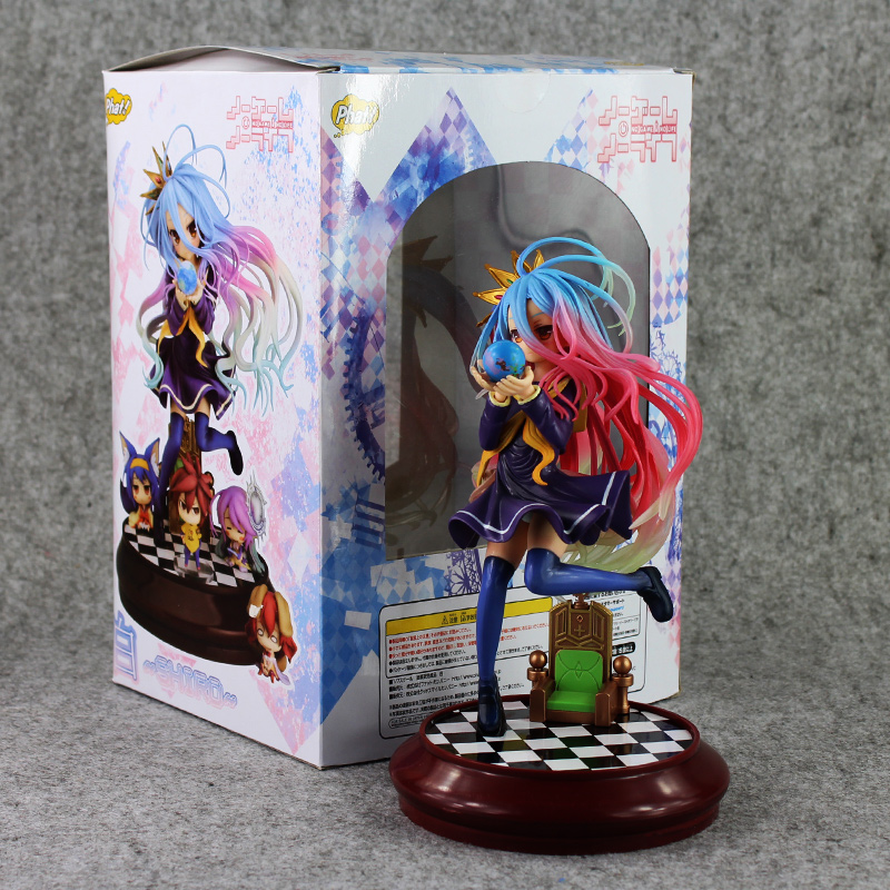Anime Kotobukiya Game of Life PVC Action Figure No Game No Life Collectible Hand Model Doll Figure Toy обучающая книга азбукварик маугли 9785402004467