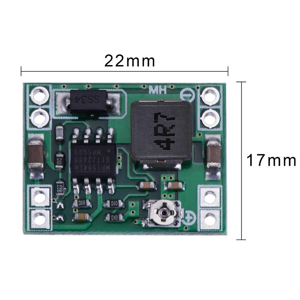 5pcs//set Mini 3A DC Adjustable Converter Step Down Power Supply Replace LM2BLUS