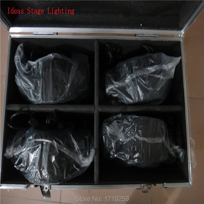 Flight Case with 4 pieces LED 12x 12W RGBW Beam Moving Head Light, Only the flight case (empty)