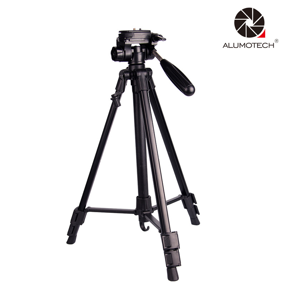 ALUMOTECH Portable Max Load 4KG 50CM~140CM Stabilizer Stand Tripod For Travel Camera Photography SLR  For Travelling