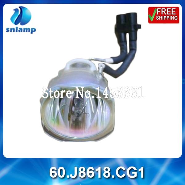 ФОТО Compatible bare projector lamp 60.J8618.CG1 for PB6100 PB6200