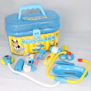 Toy box doctor box health care case toy set vocalization luminous free shipping
