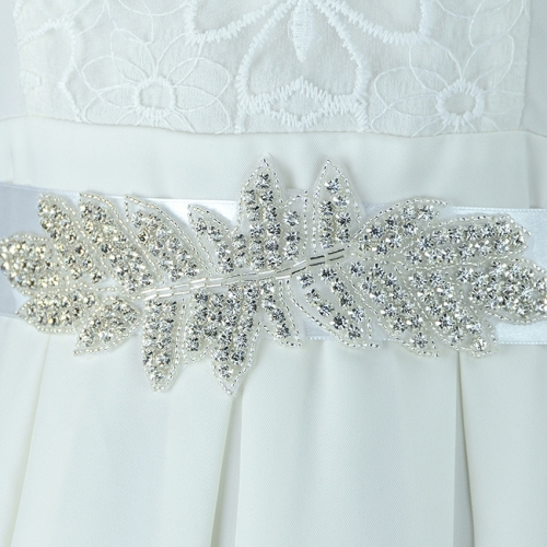 SAINT FORT NIA Wedding Dress Crystal Belt (37)