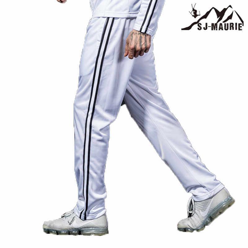 SJ-Maurie 男性スポーツを実行しているアスレチックバスケットボールトレーニング長ズボン男性の古典的なカシミヤウォームスポーツ