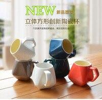 クリエイティブギフト新しいデザイン面白いマグカップやカップダイヤモンドセラミックコーヒー朝食ミルクティーマグ愛6色ホームオフィス装飾
