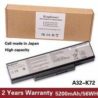 5200mAh Korea Cell Original Battery A32 K72 For ASUS K72Y K73 K73B K73BR K73BY K73E K73J