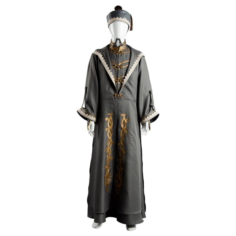 Albus Dumbledore Schoolmaster Cosplay Costume Full Set Wizard Cloak Party Show Costume