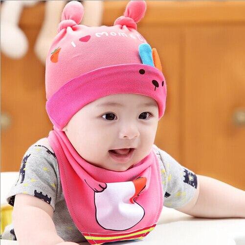0c82edb2313 Spring and autumn newborn hat baby girl thin tire cap summer 100% cotton  princess baby hat