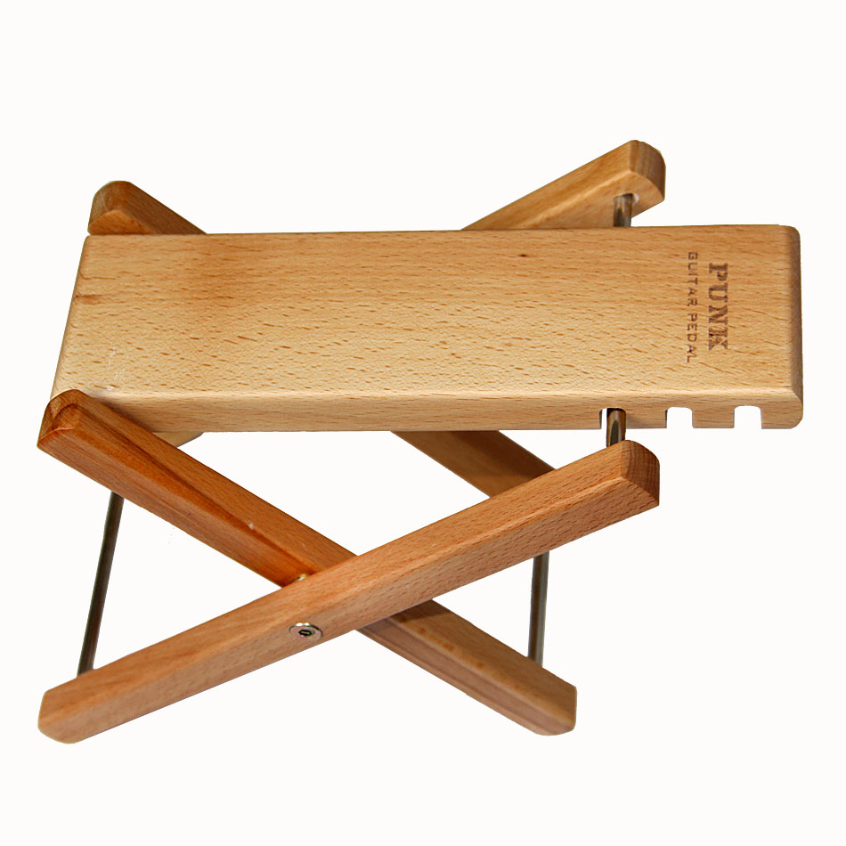 Punk Convenient and practical Guitar Accessories Guitar Wood pedal foot Wood stand цены онлайн