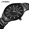SINOBI New Slim Clock Men Casual Sport Quartz Watch Mens Watches Top Brand Luxury Quartz-watch Male Wristwatch Relogio Masculino