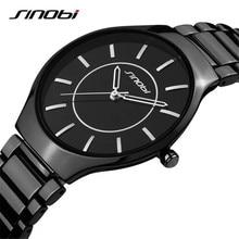 Sinobi nuevo delgado reloj de hombre Casual Sport reloj de cuarzo para hombre relojes de primeras marcas de lujo del cuarzo reloj de pulsera para hombre Relogio Masculino