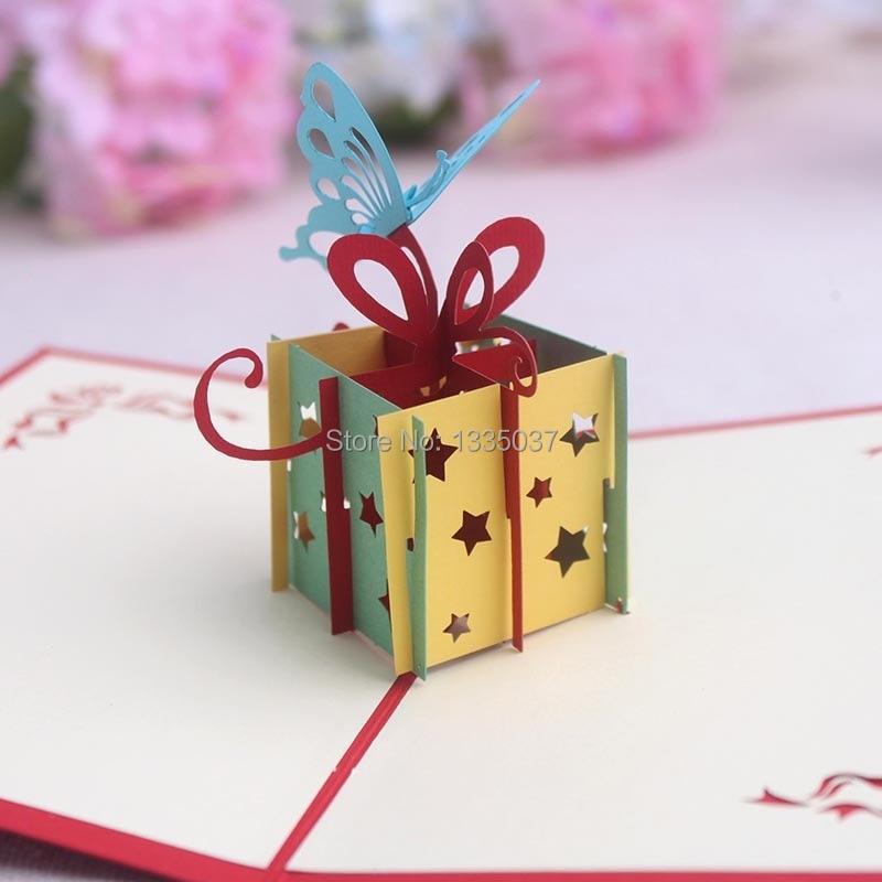 Handmade Creative 3d Birthday Greeting Card On Aliexpress