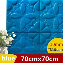 Living room retro 3D wall sticker DIY Waterproof TV background wallpaper Foam Emboss brick pattern self-adhesive wallpaper 3d wall stickers self adhesive creative tv background foam wall brick wallpaper decorative waterproof