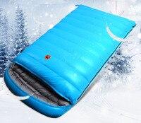 25 To 10 Winter Sleeping Bag Lover Sleeping Bag White Duck Down Sleeping Bag