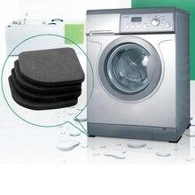 4 шт подставка для стиральной машины ударные накладки Антивибрационная прокладка для стиральной машины Нескользящие коврики холодильник Многофункциональный