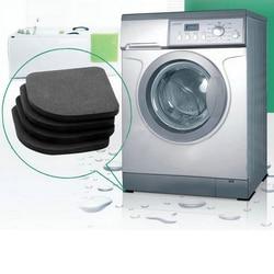 4 шт подставка для стиральной машины ударные накладки Антивибрационная прокладка для стиральной машины Нескользящие коврики холодильник М...