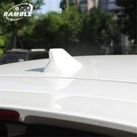 Ramble Brand NEW Shark Fin Antenna For Honda CRV XRV VEZEL Car Roof Aerial Waterproof Radio