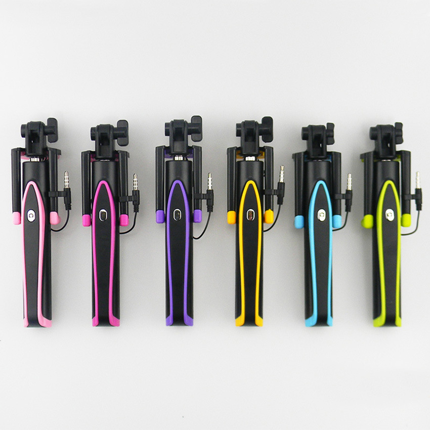 S17 mini žičani ručni selfie stick za iPhone 6s plus android - Kamera i foto - Foto 2