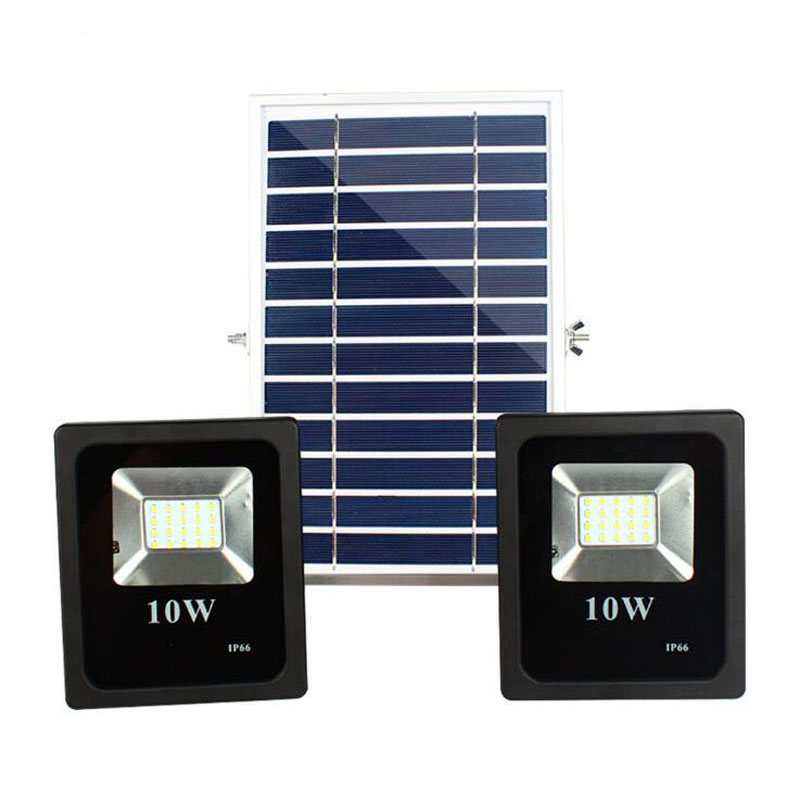 8pcs 10w 20w Double Solar Ed Flood