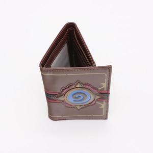 Image 4 - Hearthstone logo wallet Game Hearthstone  Package Region free  Wallet purse  Short Wallet for men Fashion Leisure