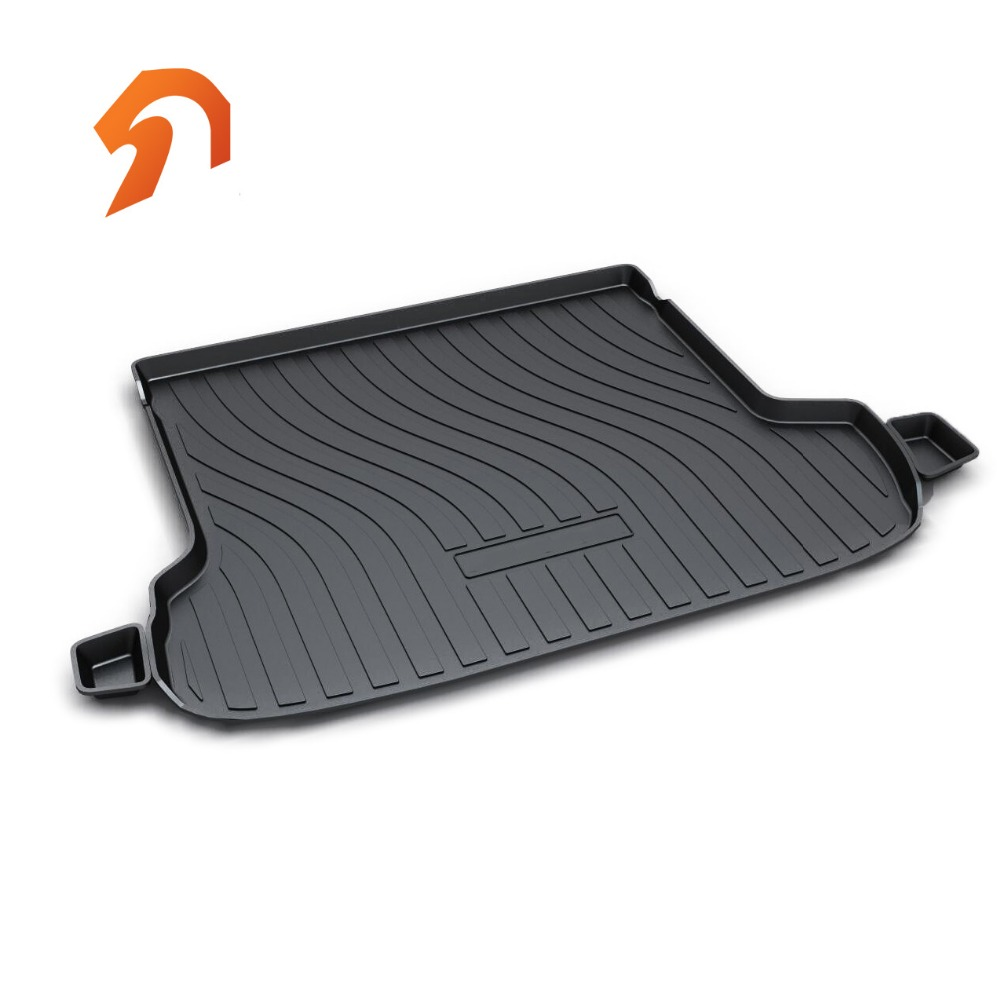 Rubber Rear Trunk Cover Cargo Liner Trunk Tray Floor Mats For SUBARU Outback 2015 2016 2017 Car Floor Trunk Carpet Liner Mats custom fit car trunk mats for nissan x trail fuga cefiro patrol y60 y61 p61 2008 2017 boot liner rear trunk cargo tray mats