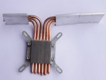 DIY Computer heat pipe 6 Copper Brass heatpipe plywood inter motherboard quieten components for htpc heatpipe cpu heatsink