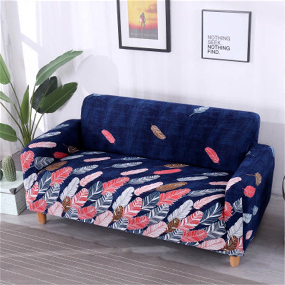 Floral Printing Sofa Cover Flexible Stretch Big Elasticity Couch