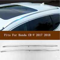 High Quality Brand New Aluminium alloy Car Roof Rack Baggage luggage Bar Black/Silver Fits For Honda CR V CRV 2017 2018 2019