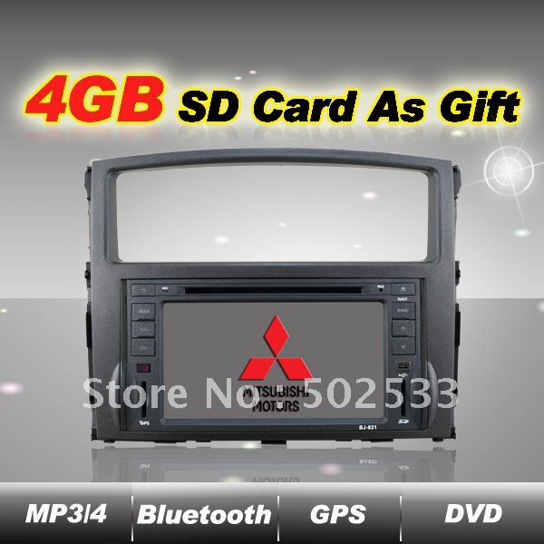 In Dash Car Dvd Player Gps Radio For Mitsubishi Pajero