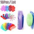 10 Pcs cuidados com o bebê higiene & saúde Kits nova poderosa dupla face de sucção palma PVC ventosa, Double Magic plástico otário