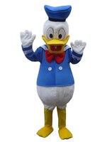 Freies verschiffen nach kostüme ball Donald Duck und Daisy Maskottchen Kostüme Cartoon puppen Nachahmung kleidung cosplay + EPE material