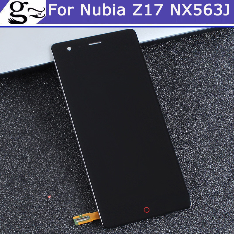 For ZTE Nubia Z17 NX563J LCD Screen 100% Original LCD Display +Touch Screen Assembly Replacement For Nubia Z17 Z 17 Smartphone For ZTE Nubia Z17 NX563J LCD Screen 100% Original LCD Display +Touch Screen Assembly Replacement For Nubia Z17 Z 17 Smartphone