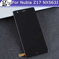For ZTE Nubia Z17 NX563J LCD Screen 100% Original LCD Display +Touch Screen Assembly Replacement For Nubia Z17 Z 17 Smartphone