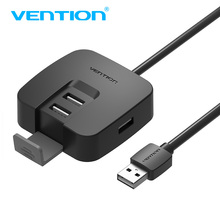 Vention 4 port USB Hub 2.0 with Micro USB Power Interface&Phone Holder USB Splitter Adapter For Laptop Card Reader Comput Table c32c823991 a371 ub u05 m186a usb port interface card tm t88v h6000iv t88iv t81 t70 188a u220 u220pb u220pd t884 m129h m226f 88ii