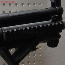 Pb игривый мешок 3D Спорт на открытом воздухе тактика игрушки wter пуля пистолет jinming MP5 направляющая специальная верхняя направляющая OD85