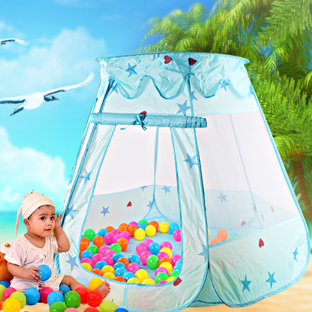 Kids Ocean Ball Pit Pool Toys Fairy House Playhut Tent Baby Toy Tents Pink Blue Baby Girls Outdooru0026 Indoor Princess Play Tent -in Toy Tents from Toys ...  sc 1 st  AliExpress.com & Kids Ocean Ball Pit Pool Toys Fairy House Playhut Tent Baby Toy ...