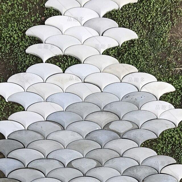 Фасонный цемент бетонная стена кирпич силиконовая резиновая форма фон Стена Кирпич Декоративный Бетон кленовый лист дизайн